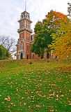 Iowa Governors Mansion. Iowa Governor's Mansion (Des Moines, IA). The photo was taken in the fall or autumn of 2015 stock images