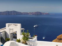 Magical View Santorini island Travel Royalty Free Stock Image