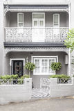 Terrace house paddington sydney. An image of a terrace house in Paddington Sydney Stock Photo