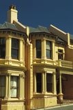 Terrace Houses. Victorian terrace houses, Dunedin, New Zealand stock photography