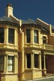 Terrace Houses. Victorian terrace houses, Dunedin, New Zealand Stock Photography