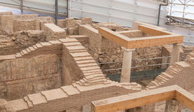 Terrace Houses in Ephesus Ancient City Stock Photography