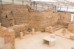 Terrace Houses in Ephesus Ancient City Royalty Free Stock Images