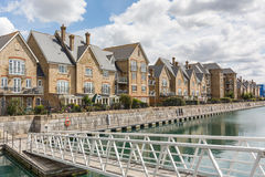 Terrace houses in Kent Stock Image