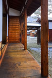 Terrace of a Japanese House Royalty Free Stock Photos