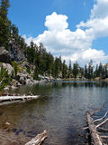 Terrace Lake, Lassen Volcanic National Park.  Stock Photos
