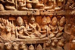 Terrace of the Leper King, Angkor Wat, Cambodia Royalty Free Stock Photography