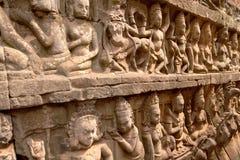 Terrace of the Leper King, Angkor Wat, Cambodia Royalty Free Stock Photos