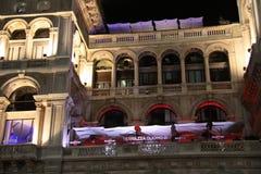 Terrace Martini, Piazza Duomo, Milan Stock Photos