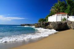 Free Terrace On Caribbean Beach Stock Photos - 13500793