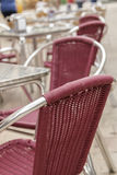 Terrace of a restaurant Royalty Free Stock Image