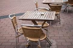 Terrace restaurant Royalty Free Stock Photography