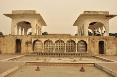 Terrace in Shalimar gardens at sunset, Pakistan Stock Images