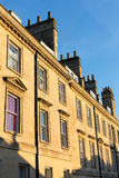 Terrace of Stone Houses in Bath Stock Photography