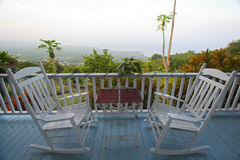 Terrace without view Royalty Free Stock Image