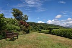Terrace Walk, Muncaster Castle Royalty Free Stock Photo
