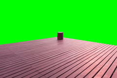Terrace wood Stock Photography