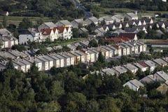 Terraced σπίτια στοκ φωτογραφία με δικαίωμα ελεύθερης χρήσης