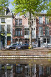 Terraced Apartment Buildings in The Hague Royalty Free Stock Photography