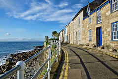 Terraced Cottages ~ Mousehole Royalty Free Stock Photography