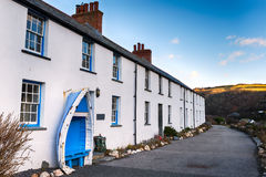 Terraced Cottages Stock Images
