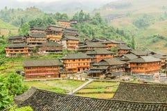 Terraced e arquitetura, casas antigas Imagens de Stock