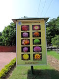 Terraced Garden of Chandigarh, India Stock Photography