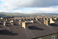 Terraced Homes Royalty Free Stock Photos