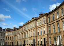 Terraced Houses Royalty Free Stock Photos