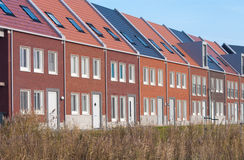 Terraced houses Stock Photo