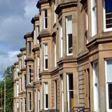 Terraced Houses Royalty Free Stock Images