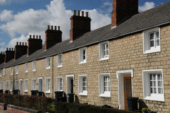 Terraced houses Royalty Free Stock Image