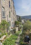 Terraced Houses, Hebden Bridge, Calderdale Stock Images