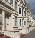Terraced Houses in London Royalty Free Stock Photo