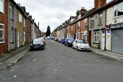 Terraced houses. Royalty Free Stock Image
