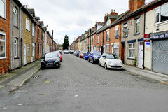 Terraced houses. Stock Photography