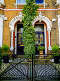 Trendy terraced houses in South London Stock Images