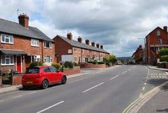 Terraced housing Royalty Free Stock Photos