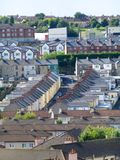 Terraced Housing. 5 Royalty Free Stock Images