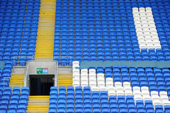 Terraced stadium seating Stock Photography