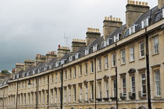 Terraced Town Houses Royalty Free Stock Photo