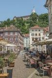 Terraces Ljubljana, Slovenia Royalty Free Stock Photo