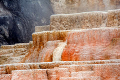 Terraces of Mammoth Springs Royalty Free Stock Photos