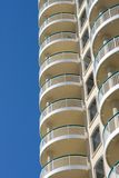 Terraces Of Modern Condominium Royalty Free Stock Photography