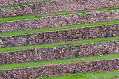Terraces at Moray, Sacred Valley, Peru Stock Images