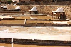 Terraces salt Royalty Free Stock Image