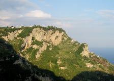 Terraces at Sentiero degli  Dei Stock Images