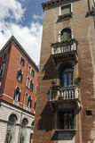 The Terraces of Venice. From a Trip around Venice, Italy Stock Photos