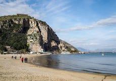 Terracina在意大利 库存照片