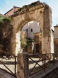 Terracina在意大利 免版税库存图片